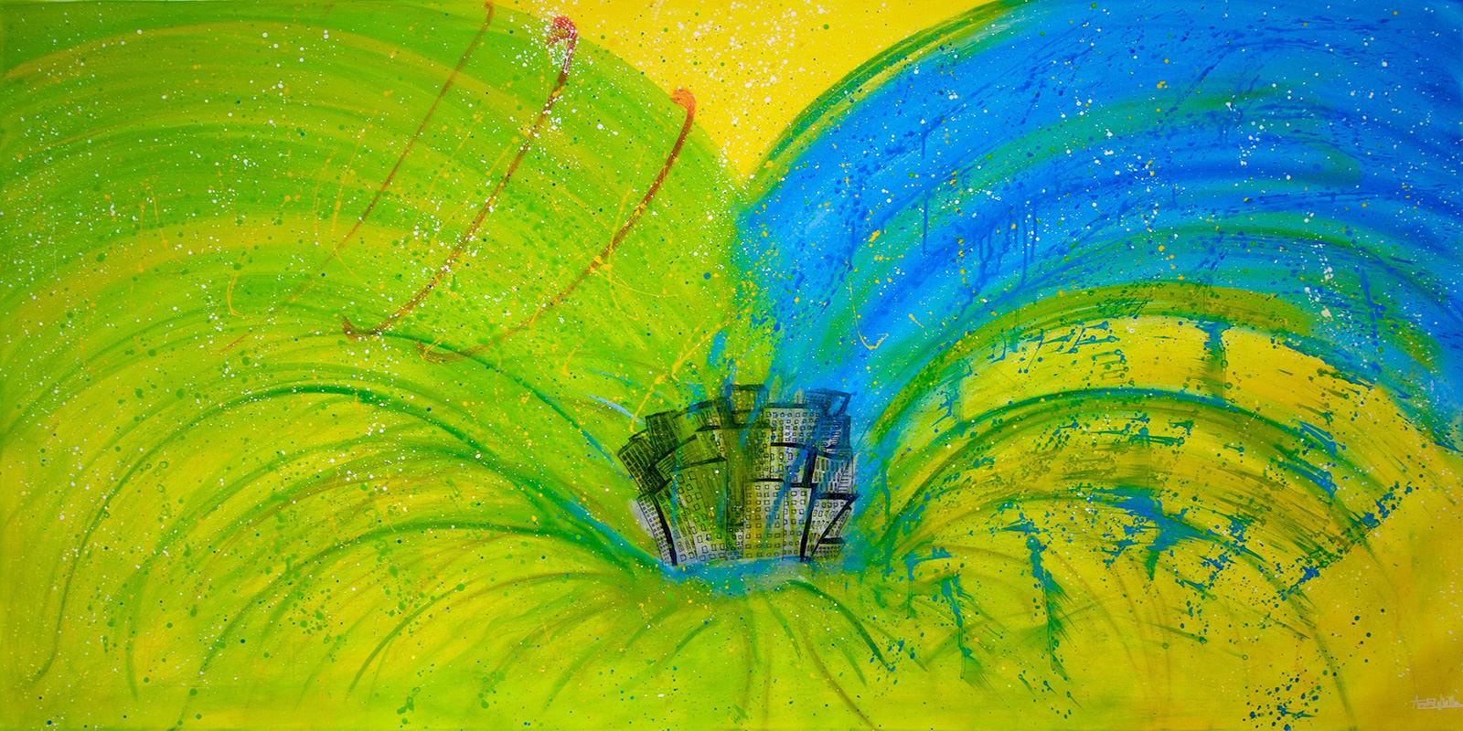 pintura artista chileno Andre Ubilla protección medioambiente