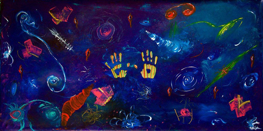 pinturas artista chileno Andre Ubilla