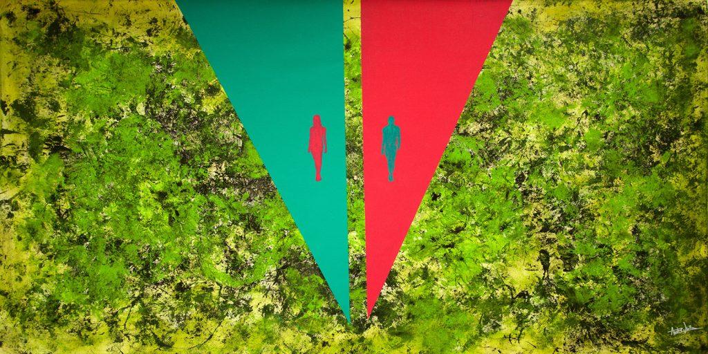 pintura artista chileno Andre Ubilla ni una menos