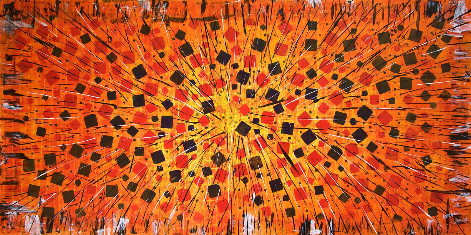 pintura artista chileno Andre Ubilla